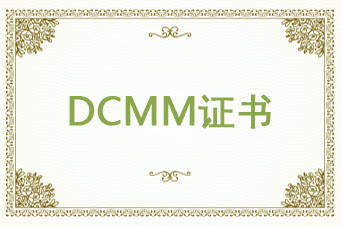 DCMM数据管理能力成熟度模型